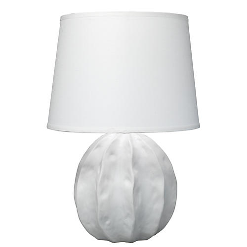 Urchin Table Lamp, Matte White
