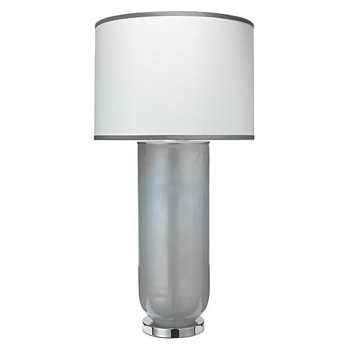 Vapor Table Lamp, Gray Opal