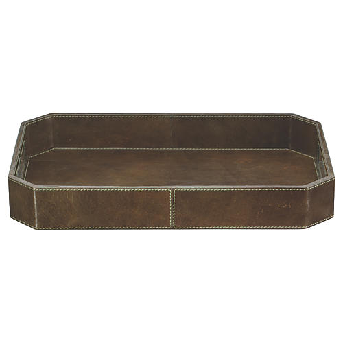 "15"" Octave Tray, Brown"