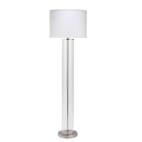 Vanderbilt Floor Lamp, Nickel
