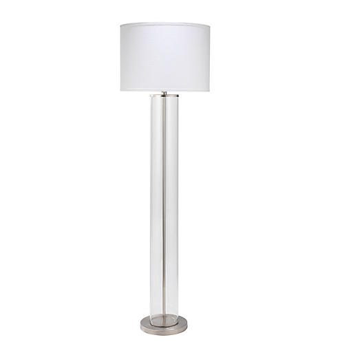 Vanderbilt Floor Lamp, Nickel