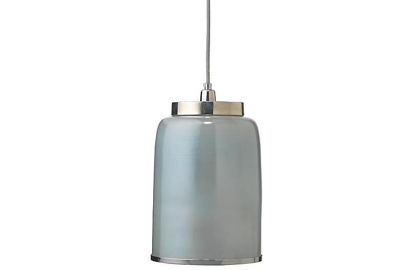 Medium Vapor Pendant, Nickel