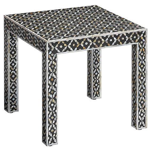 Evelyn Side Table, Black