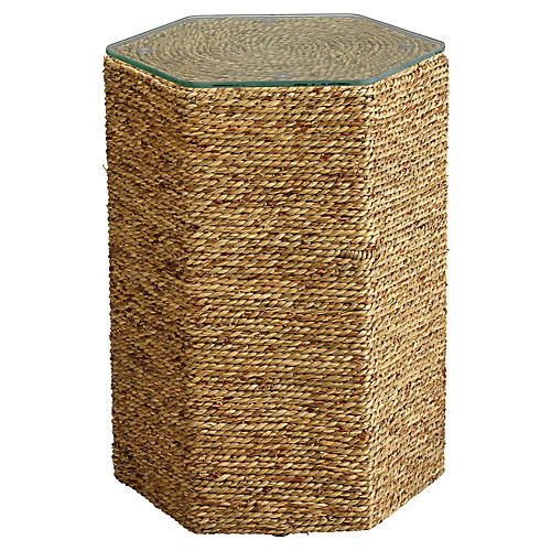 Peninsula Side Table, Natural