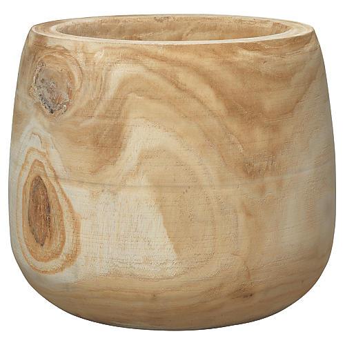 "14"" Brea Vase, Natural"