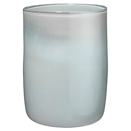 "11"" Vapor Medium Vase, Metallic Opal"