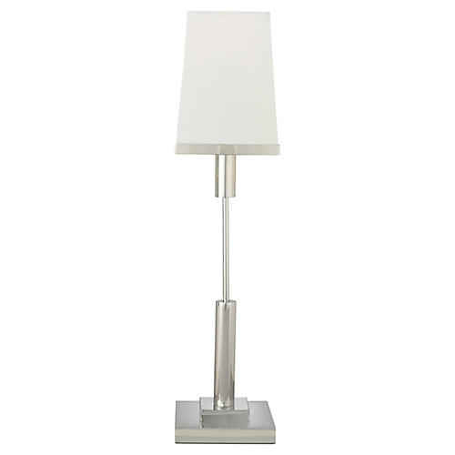 Jud Table Lamp, Nickel