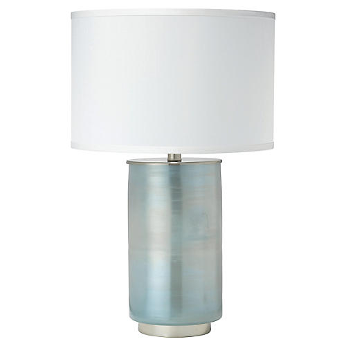 Vapor Medium Table Lamp, Opal Ombré