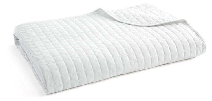 Quilted Blanket, White