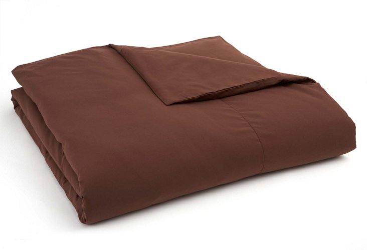 Eternal Duvet Cover, Chocolate