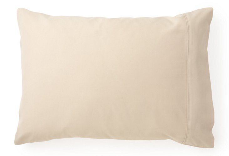 Set of 2 Lux Pillowcases, Sand
