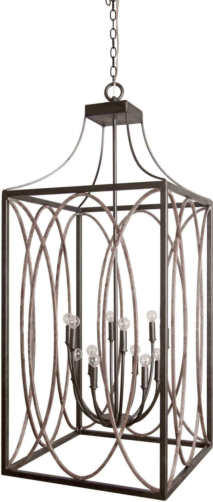 Metropolitan Lantern with Top