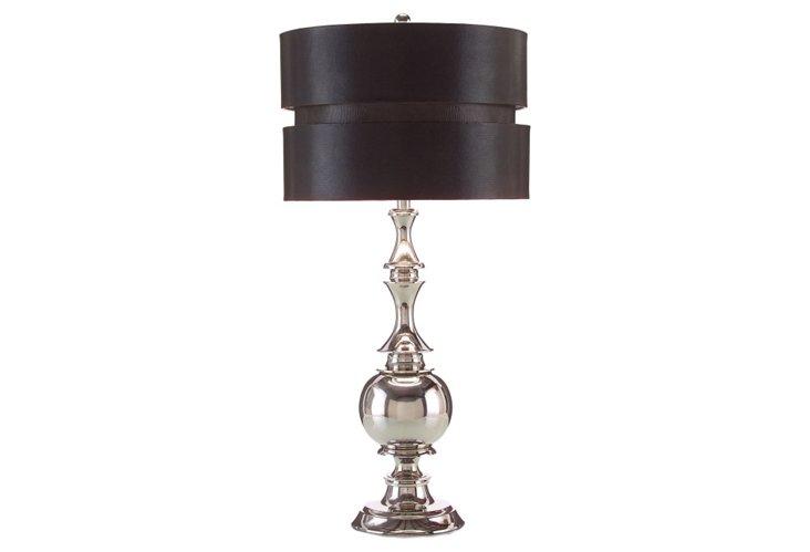 Curvaceous Chrome Lamp
