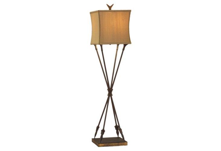 Arrow Buffet Lamp