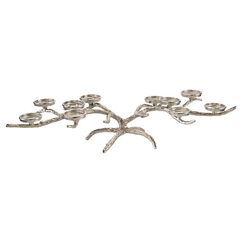 "37"" Extended Limbs Candelabra, Nickel"