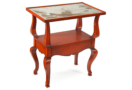 Garance Table, Burnt Red