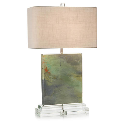 Colors Table Lamp, Green