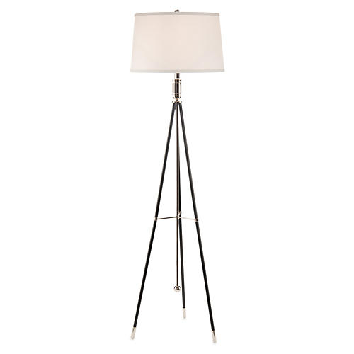 Tripod Floor Lamp, Ebony