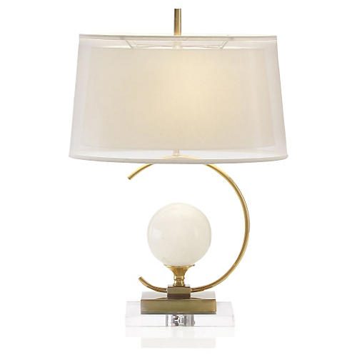 Eclipse Table Lamp, Clear