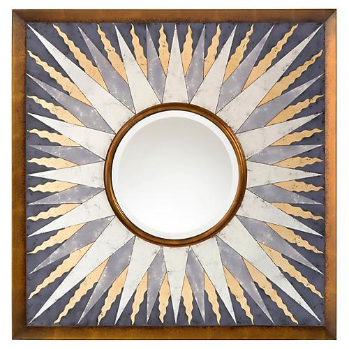 Sunna Wall Mirror, Gold