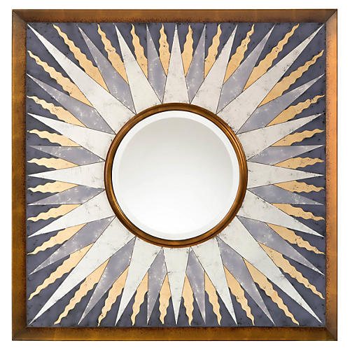 Sunna Wall Mirror, Gold