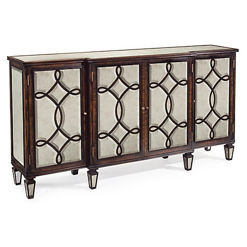 Scroll Sideboard, Windsor Black