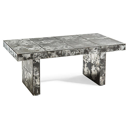 Sligo Coffee Table, Gray/White