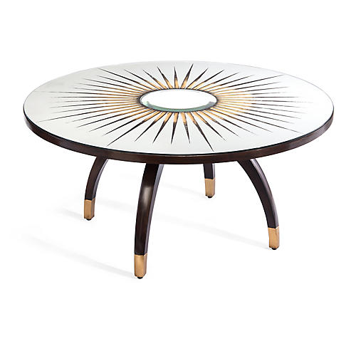 Santa Fe Coffee Table, Jupiter Walnut