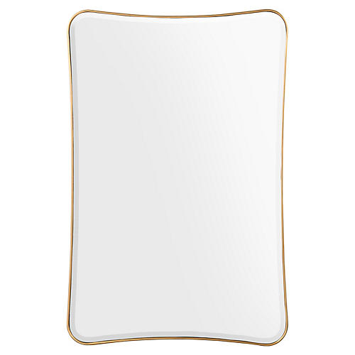 Moran Oversize Wall Mirror, Gold