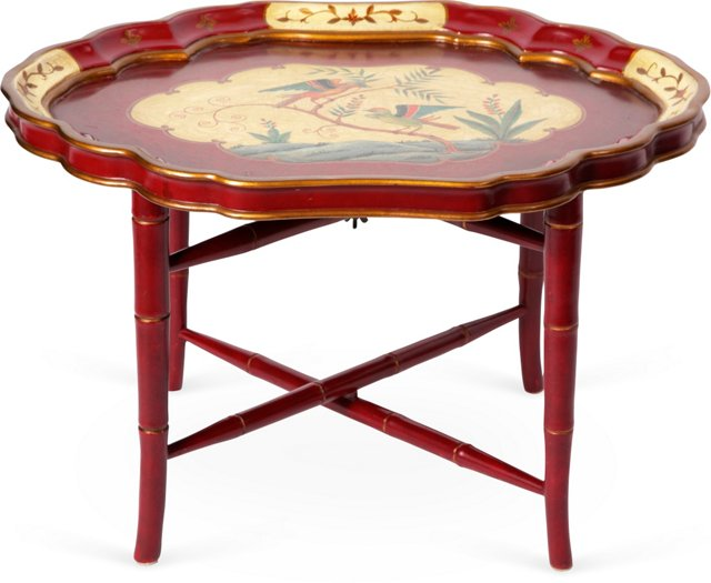 Asian Tray-Top Coffee Table
