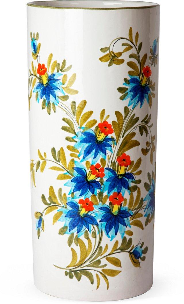 Floral Ceramic Umbrella Stand