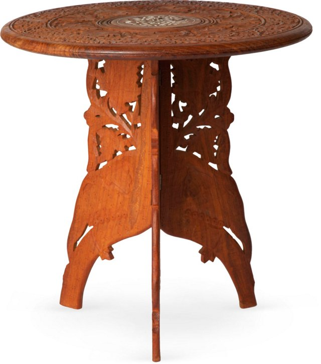 Moroccan Folding Side Table