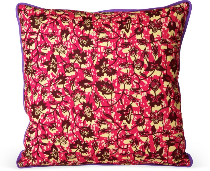 Graphic African Pillow V