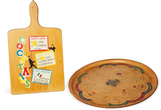 Drinks Tray & Cutting Board