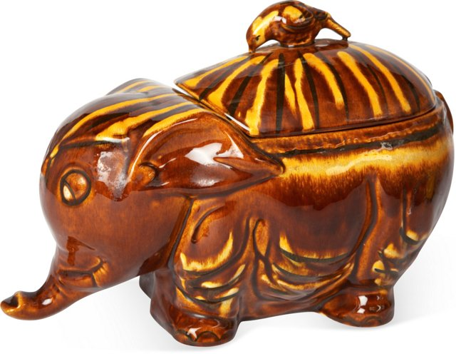 Elephant Cookie Jar