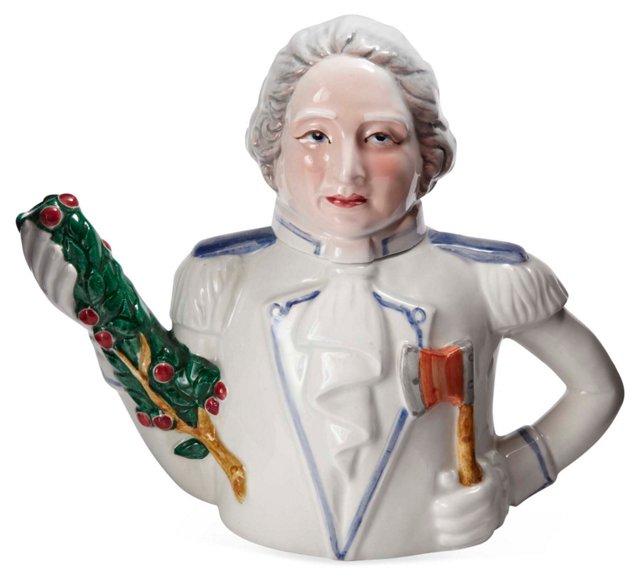 George Washington Teapot