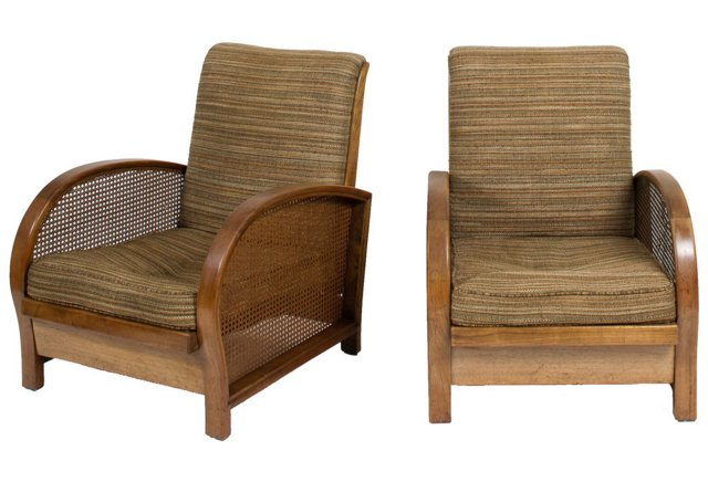 Bauhaus Chairs, Pair
