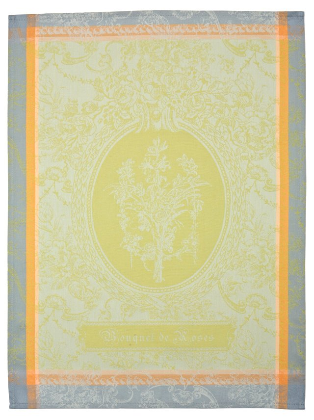 S/4 Solaire Kitchen Towels, Light Green