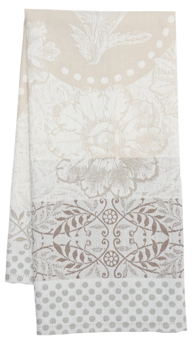 S/4 Kitchen Towels, Pensee Bruyere