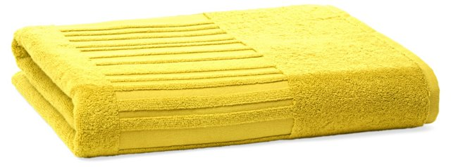 Spa Bath Sheet, Lemon