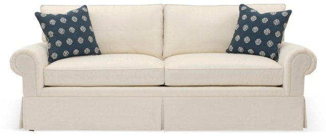 "Redgrave 89"" Sofa, Salt White"