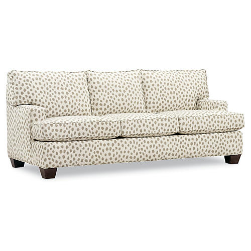 "Tribeca 82"" Sleeper Sofa, Cafe Sunbrella"