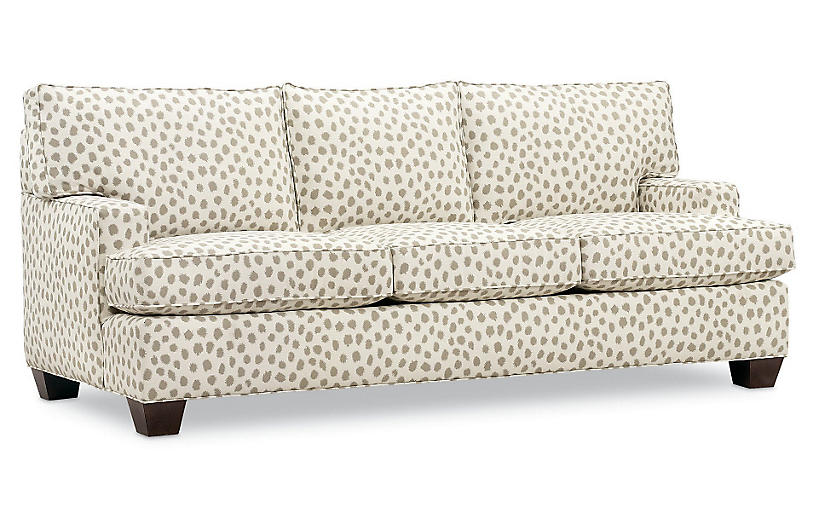 Tribeca Sleeper Sofa, Cafe Sunbrella