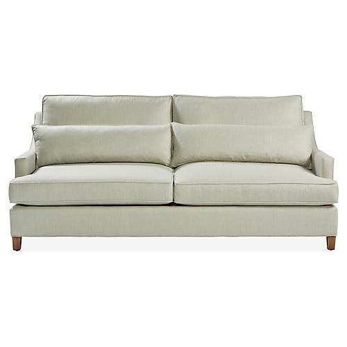 Colette Loveseat, Spa Sunbrella