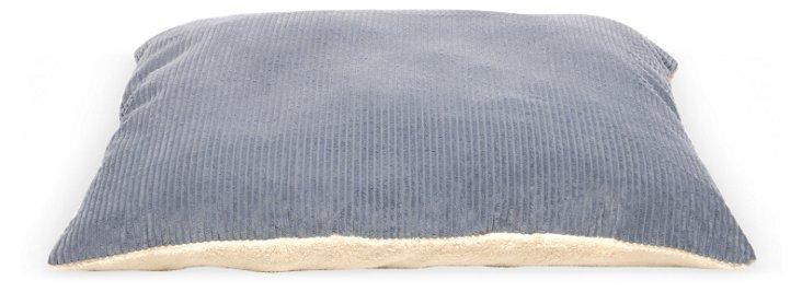 Mini Plush Chenille Bed, Blue