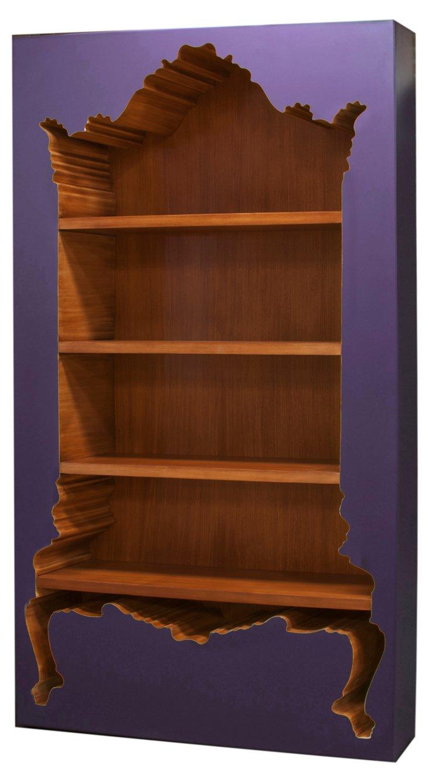 Bodhi Inside-Out Bookcase, Purple