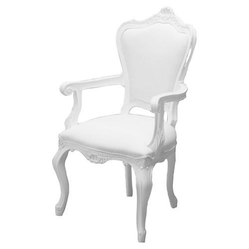Avita Armchair, White