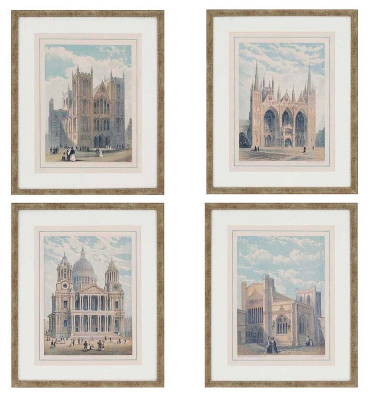 Cathedrals, Set of 4