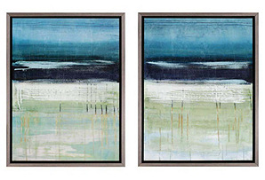 Sea and Sky Diptych*