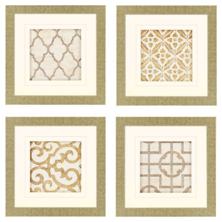 Archives, Set of 4